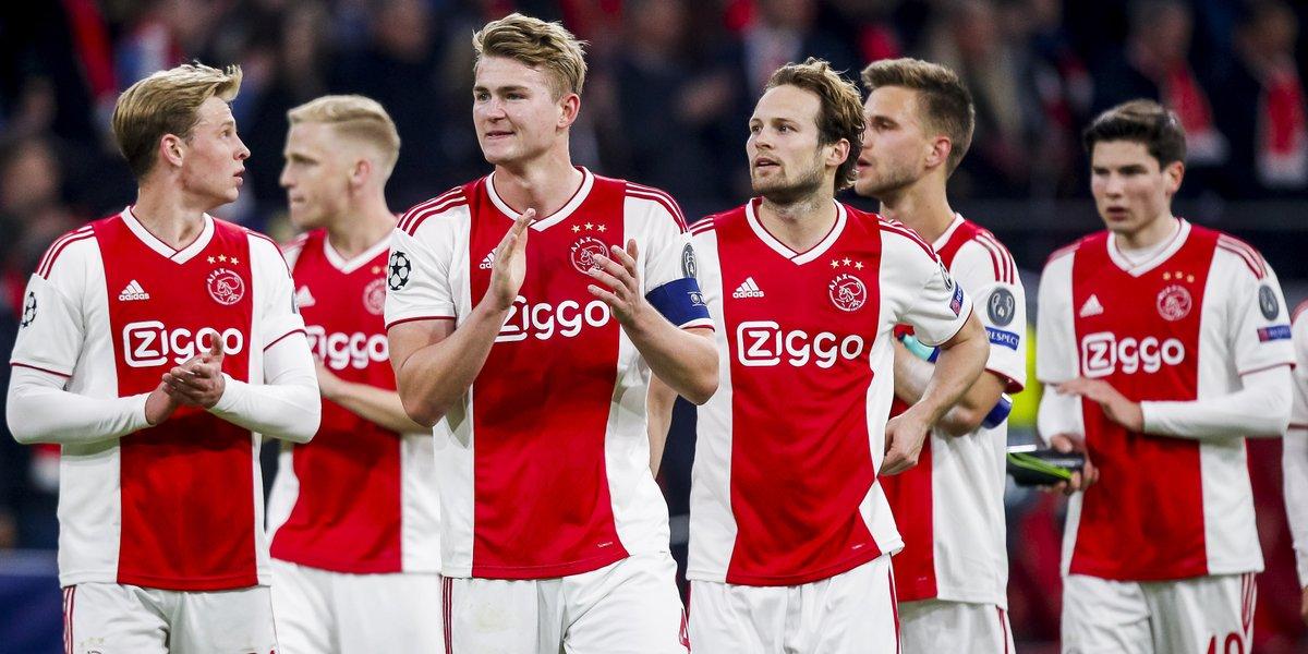 Ajax relacionados Champions League