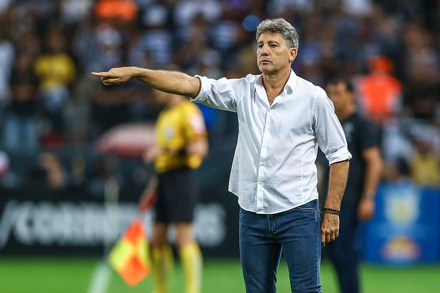 Renato Portaluppi Grêmio x Corinthians
