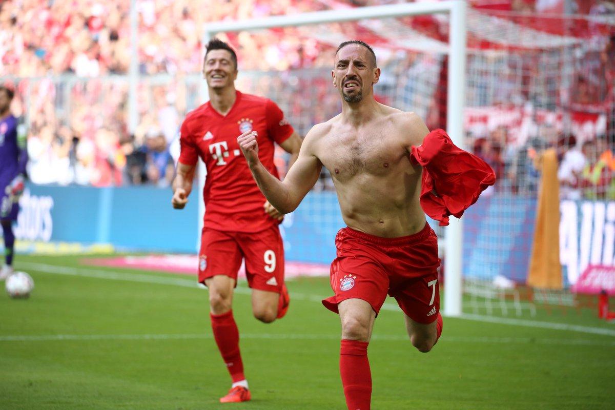 Ribéry marca golaço pelo Bayern de Munique