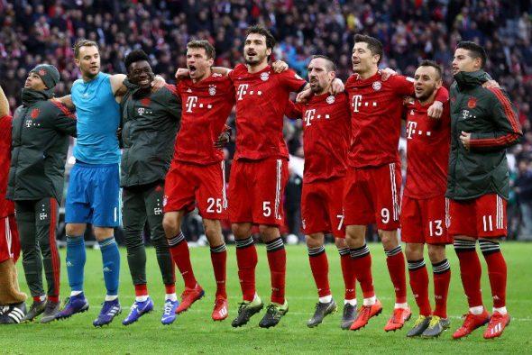 Bayern de Munique x Eintracht Frankfurt
