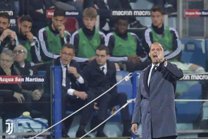 Após o anúncio de que Allegri não seguirá no comando da Juventus, Cristiano Ronaldo publicou uma mensagem de despedida para o treinador.