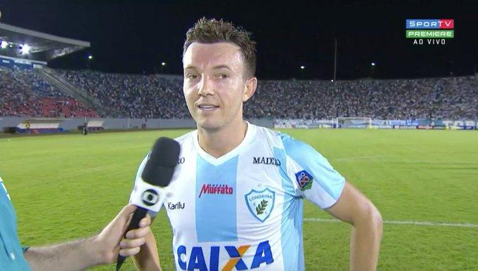 Jogo do Londrina de Dagoberto é atração do SporTV neste sábado (18)