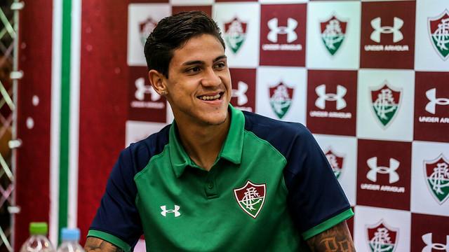 Aos 21 anos, Pedro é cria da base do Fluminense