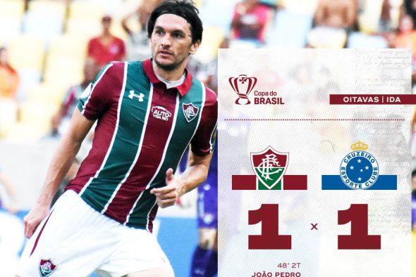Fluminense x Cruzeiro próximo jogo Copa do Brasil