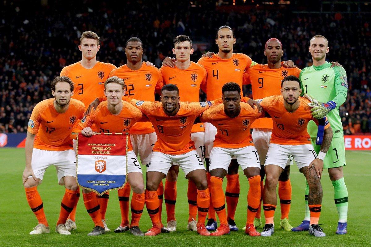 Holanda convocados Nations League