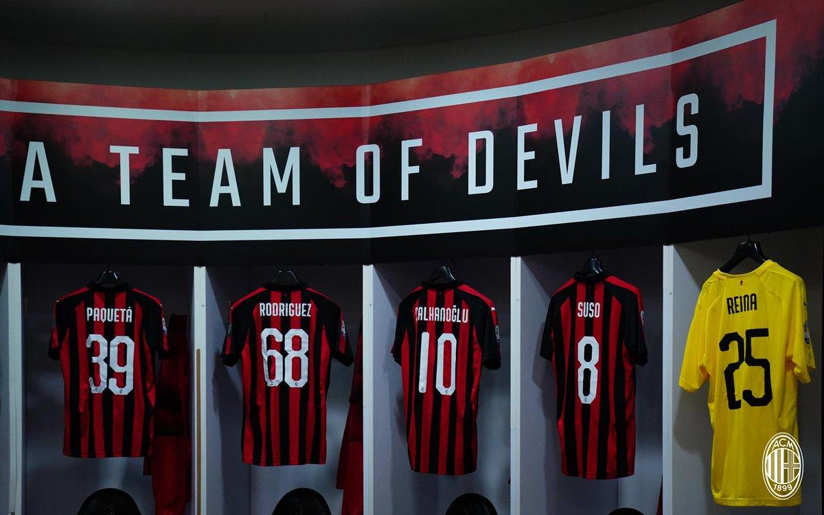 Milan escalação Bologna Paquetá Campeonato Italiano