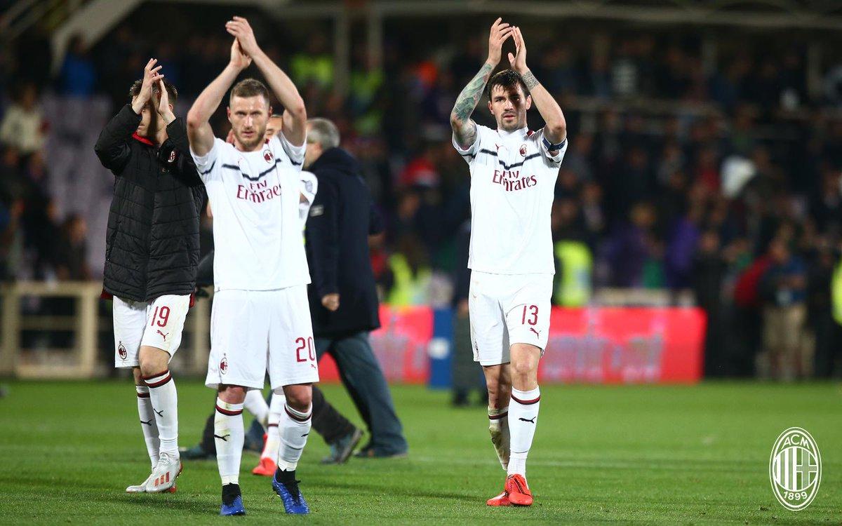 Milan relacionados x Frosinone