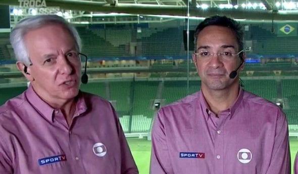 Milton Leite e Mauricio Noriega estão escalados para o jogo do Palmeiras nesta quinta (30)