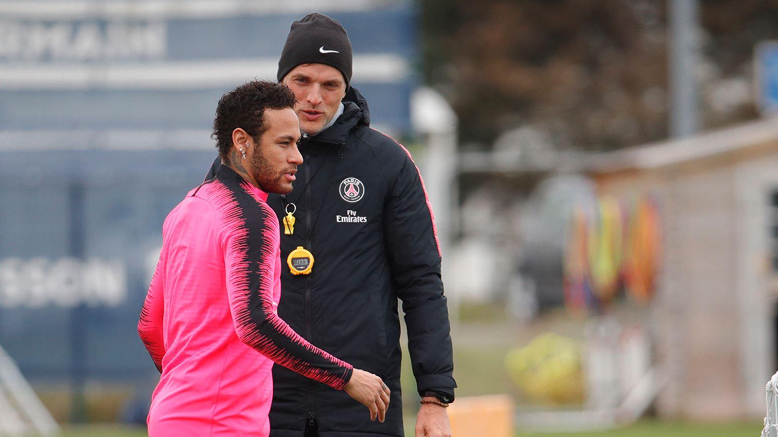 Tuchel não está em contato com Neymar.