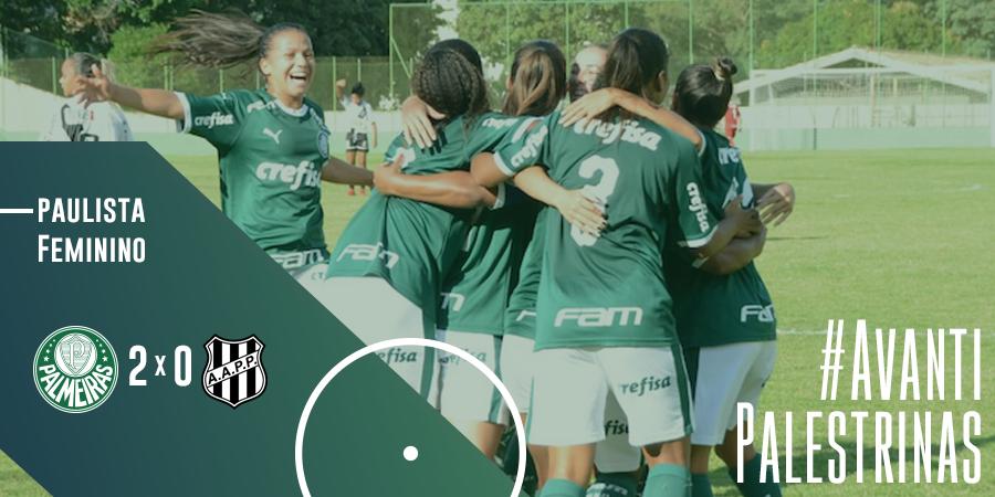 Palmeiras invicto Paulista Feminino