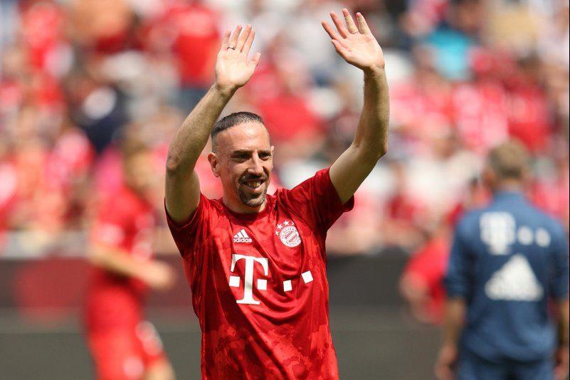 Ribéry saída Bayern volta Olympique de Marseille