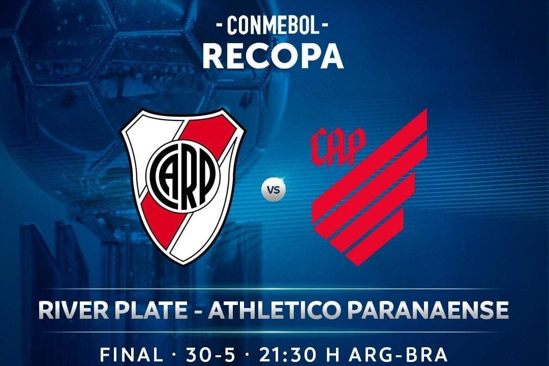 River Plate x Athletico Paranaense: