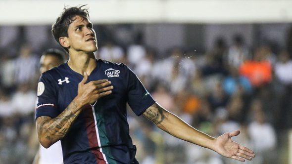 Pedro fez contra o Santos o primeiro gol dele em 2019
