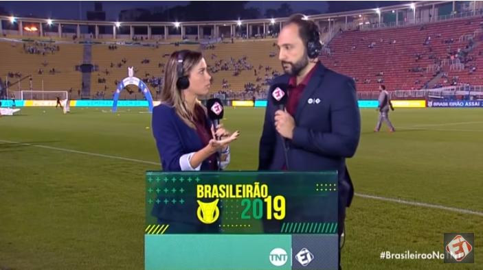 Santos x Inter: TNT