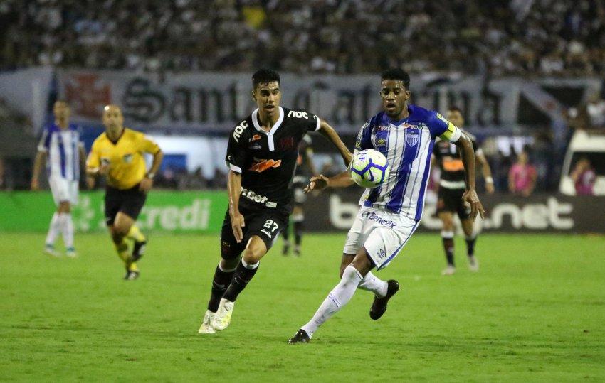 Este será o terceiro jogo entre Vasco e Avaí em 2019