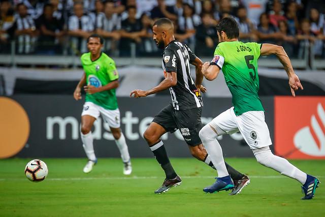 Maicon Bolt fez um gol no jogo entre Zamora e Atlético-MG, realizado em BH e vencido pelo time da casa por 3 a 2