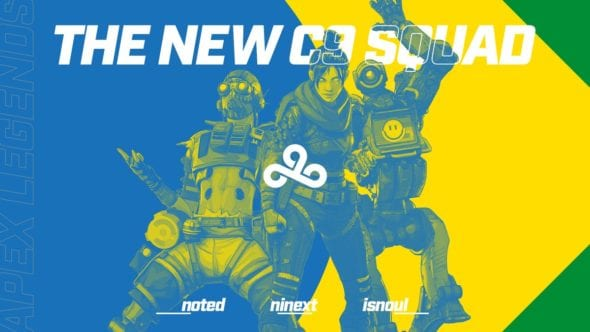 Brasileiros da Cloud9 foram mal da FACEIT Pro Series de Apex Legends