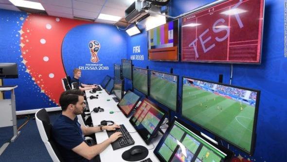 VAR sala copa mundo 2018
