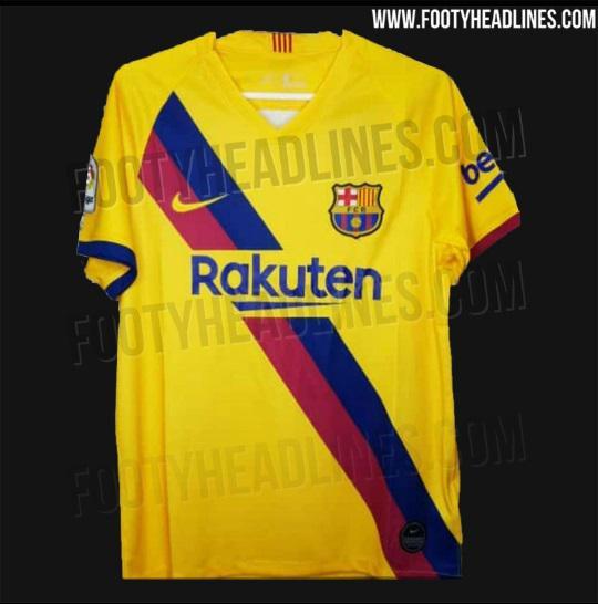 d9452f288f Suposta camisa 2 do Barcelona vaza na internet; veja detalhes