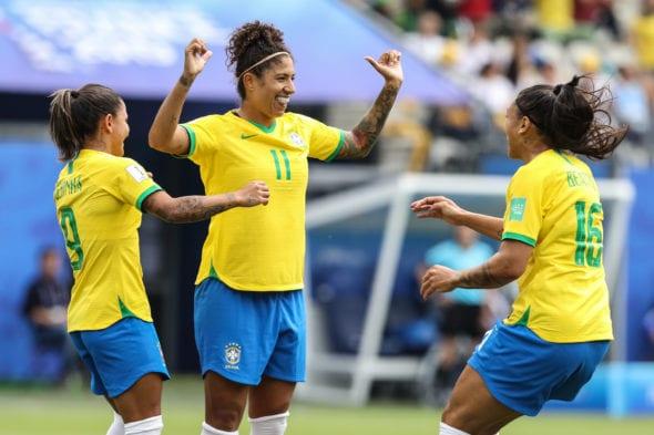 Cristiane luta pela artilharia da Copa do Mundo Feminina