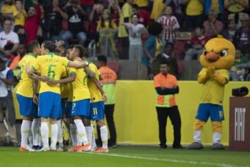 Último jogo antes da Copa América foi em Porto Alegre-RS