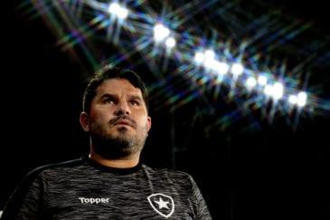 Barroca, treinador do Botafogo no Brasileirão
