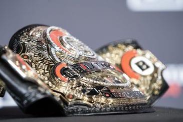 Imagem do cinturão do Bellator
