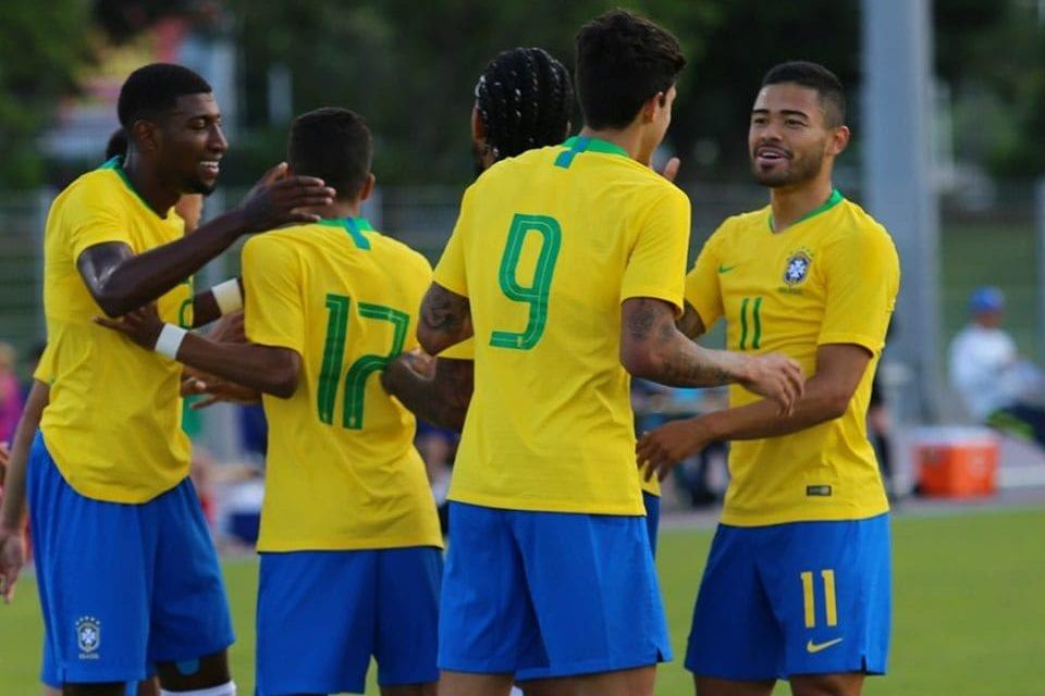 Brasil x Irlanda