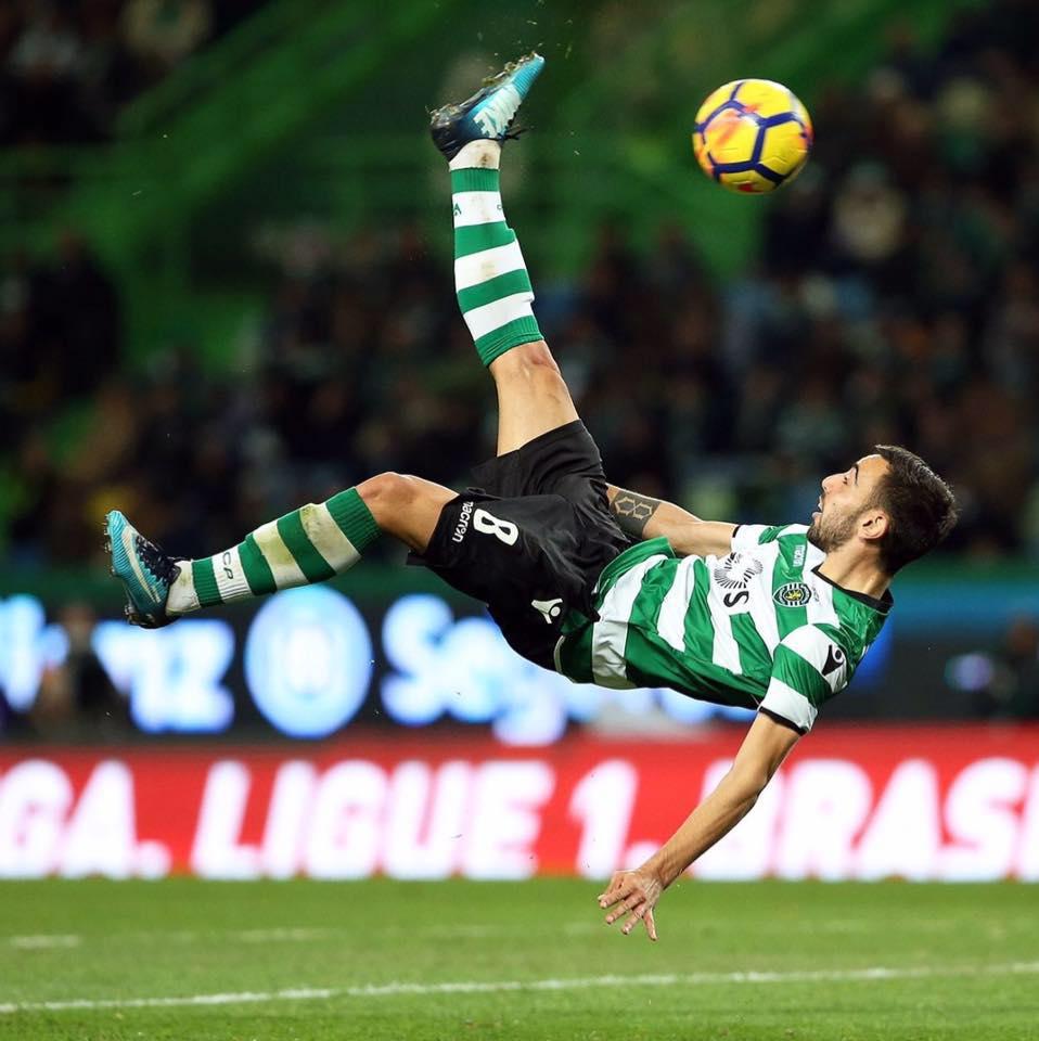Bruno Fernandes, Sporting