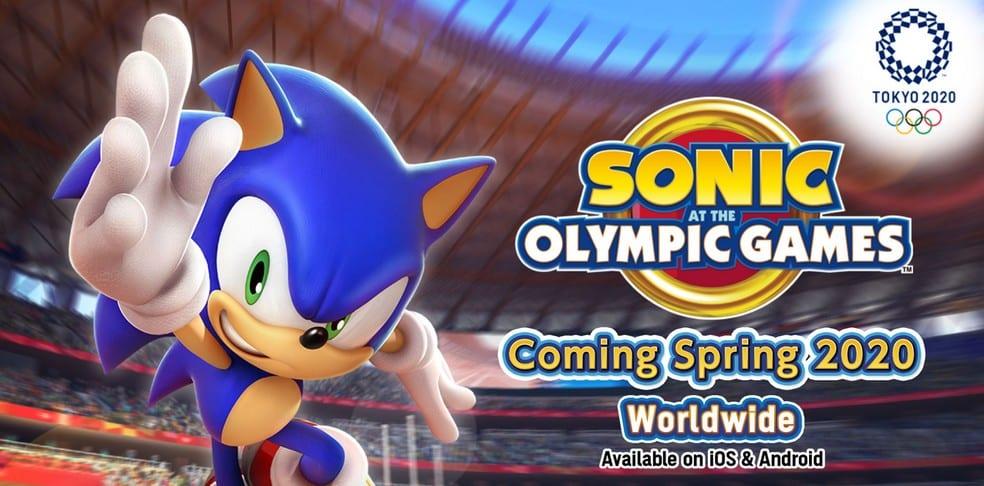 Sonic vai ganhar uma versão mobile das olimpíadas