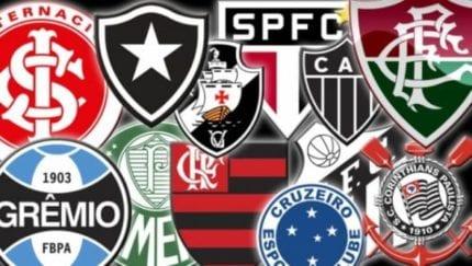 Clubes do Brasileirão