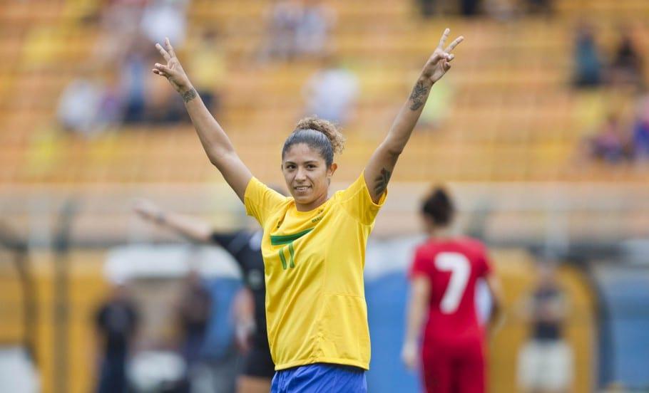 Cristiane - Maiores artilheiras da seleção brasileira feminina