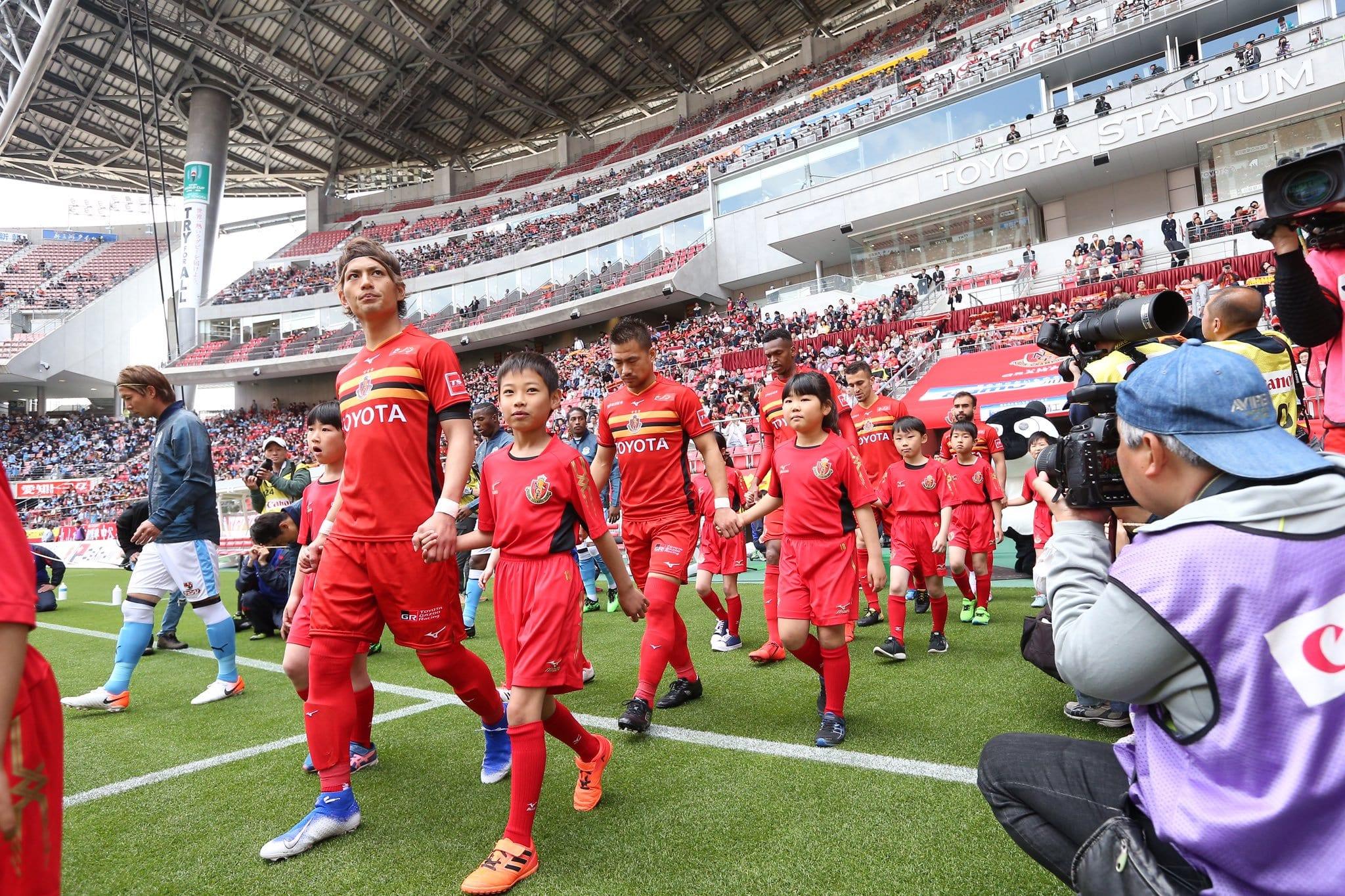 Urawa Reds e Nagoya Grampus duelam neste domingo (3) em jogo válido pelo Campeonato Japonês.