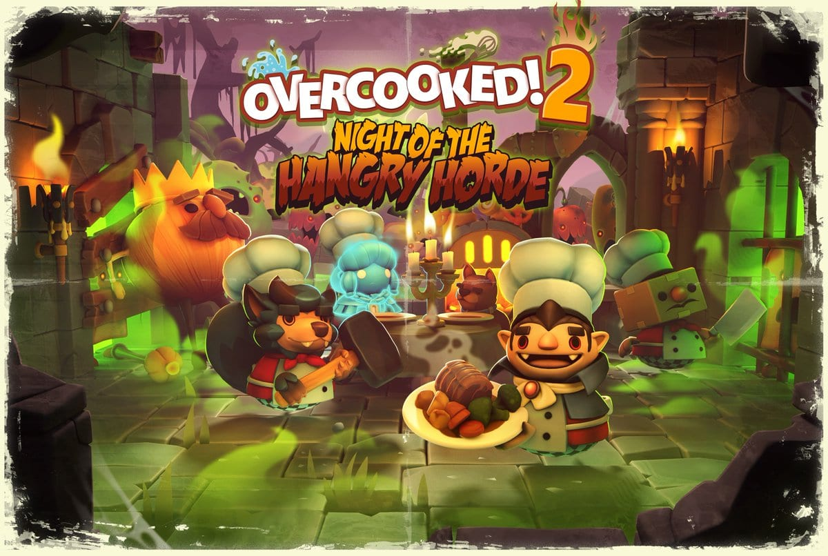 DLC de Overcooked! 2 é sobre zumbis