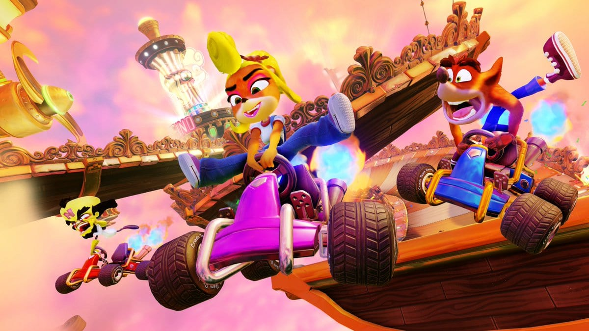 Crash Team Racing terá DLC com Spyro