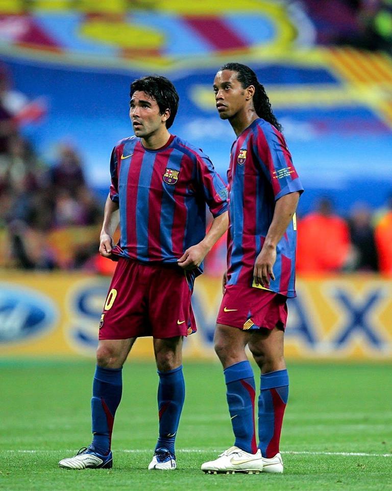 Ronaldinho e Deco, Barcelona