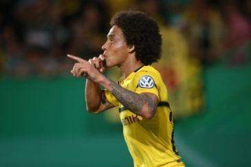 Witsel aprovou as chegadas dos novos reforços do Borussia Dortmund.