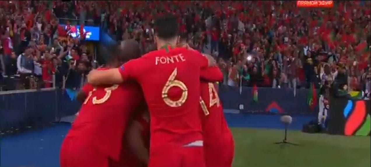 Portugal bateu a Holanda e faturou a Nations League.