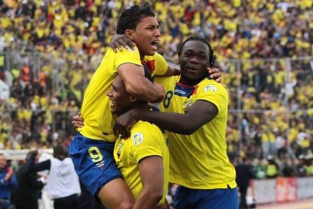 Equador escalação x Uruguai Copa América