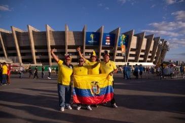 Mineirão recebe mais uma partida na Copa América; desta vez a bola vai rolar para Equador e Japão