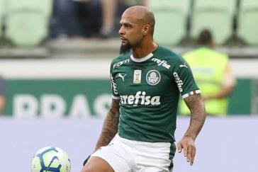 Felipe Melo e Diego mais cartões amarelos Brasileirão