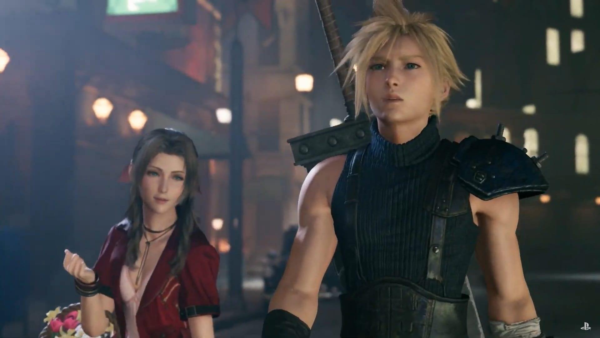Final Fantasy 7 Remake teve data de lançamento revelada.