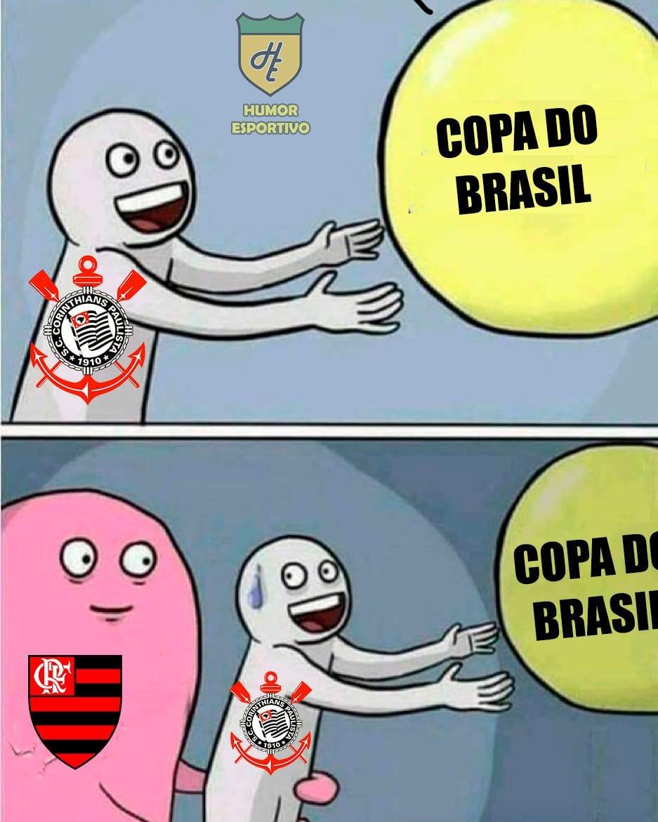 Corinthians Vira Piada Após Ser Eliminado Pelo Flamengo
