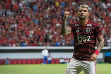CSA 0 x 2 Flamengo - Gols de Vitinho e Gabigol (foto)