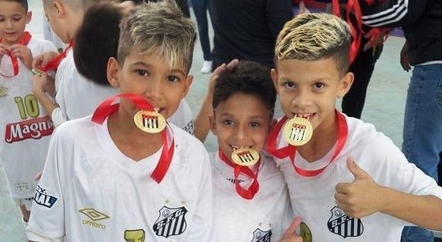 Santos cria categoria sub-6 em seu departamento de futsal