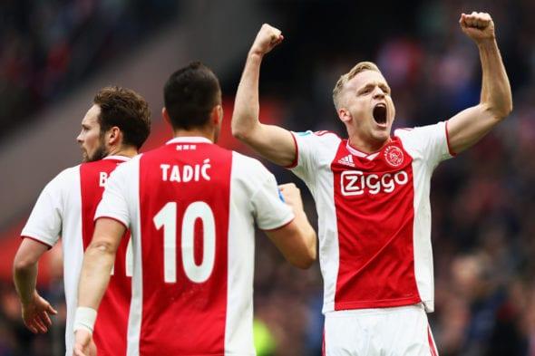 van de Beek, do Ajax, pode ir ao Real Madrid