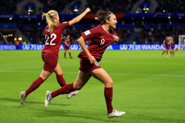 Inglaterra vence Argentina Copa do Mundo Feminina