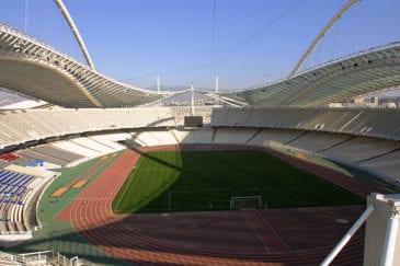 Estádio Olímpico de Atenas recebe o duelo entre Grécia e Itália
