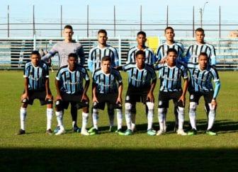 Equipe do Grêmio Sub-17