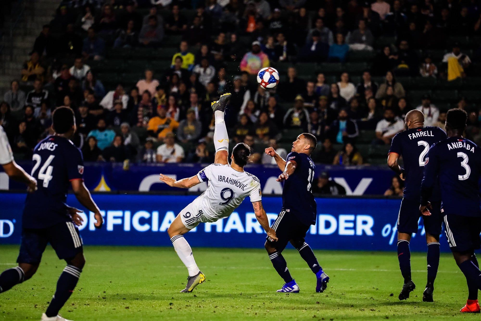 Ibrahimovic Tor La Galaxy